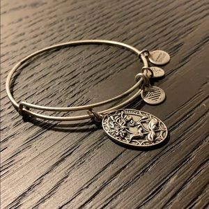 Alex and Ani sister bangle bracelet silver